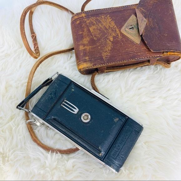 Vintage Other - Vintage Rustic Camera Camera Bag Home Decorative